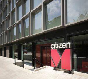Onderhoud Citizen Hotel Amsterdam Gevelschade
